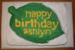 Highlight for Album: Ashlyn's Birthday Cakes