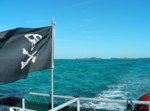 Flying the Jolly Roger out of Nassau