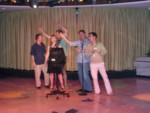 I signed up various executives and myself up for karaoke the last night - everyone had a lot of fun!