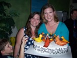 Highlight for Album: Chicken Choir Cake