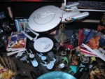 More of my Trek collection on the table