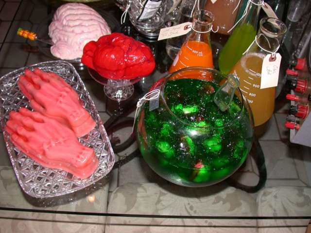 Gummy Body Parts Suspended in Ectoplasm