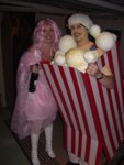 Cotton Candy Wendy & Popcorn Dave = Most Original Costume Winners!