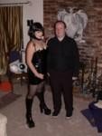 Mistress Melanie & Dave in Black