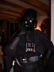 Darth Tracia in a pensive pose - can you see the raised