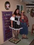 French Maid Audene & Cowgirl Thanwa