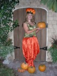 Britta, the Pumpkin Queen