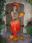 Britta the Pumpkin Queen