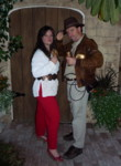 Marion Ravenwood and Indiana Jones
