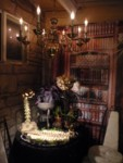 Violent Vertebrae & Savory Spiders in a corner of the Steampunk Study