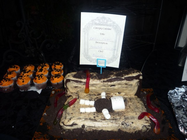 Cyndee's Coffin Cake - delicious!