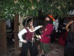 Dread Pirate Robert Douglas had better watch his bonnie buccaneer!