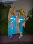 3 Britta Dolls at Castle Brittahytta
