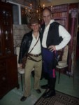 Two Harrisons! Lyle as Indy & Galt as Han