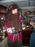 Dread Pirate Robert Douglas enjoys his grog