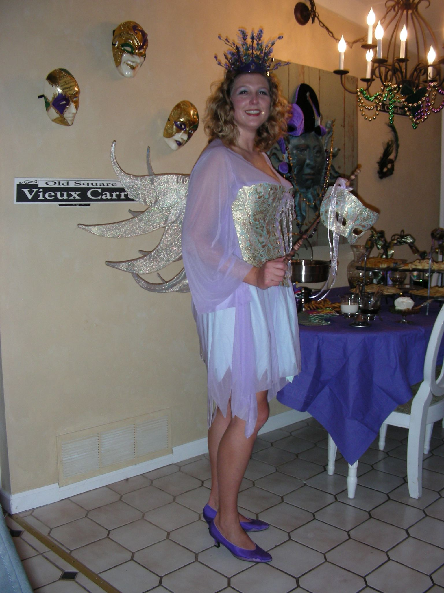 Mardi Gras Fairy Princess Britta