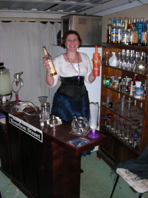 Cyd the bar wench...but we already knew that!