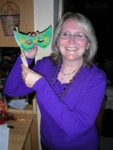 Sheila's edible mask