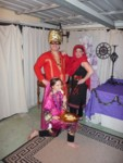 Posing Barbieris - Best Costume winners!
