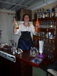 Cyd the bar wench - big surprise!