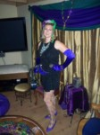 Britta as Mardi Gras Girl