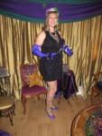 Britta as Mardi Gras Girl