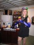 Britta at Bourbon Street Bar
