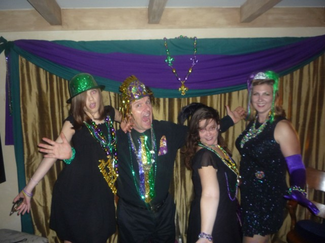 Mardi Gras Madness!