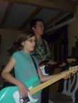 Ashlyn & Kevin rockin the house