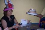 Birthday girl with birthday cake!