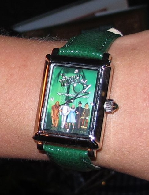 Wizard of Oz watch that came with the collector's edition Blu-ray set