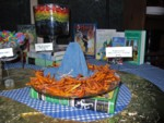 Scarecrow's Sweet Potato Straw, sitting on The Scarecrow of Oz book