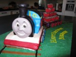 Highlight for Album: Thomas the Tank Engine Cake