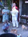 (l-r) Big Dobby, Hermione, Gilderoy Lockhart, and the cutest Dobby ever (Bud!).