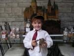 Ron visits hogwarts