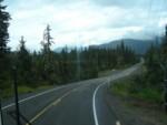 Beautiful bus ride back to Juneau