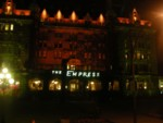 The Empress Hotel in Victoria, seen from the bus