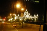Downtown Victoria at night
