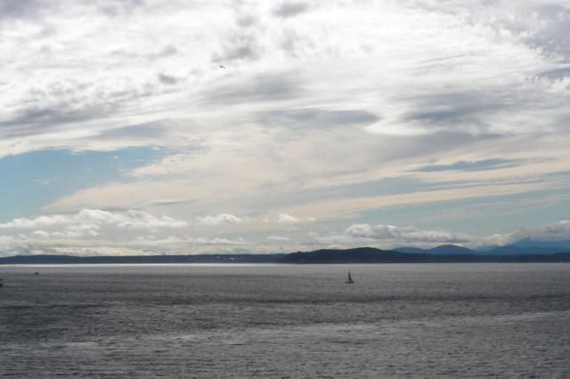 Sailing through Puget Sound