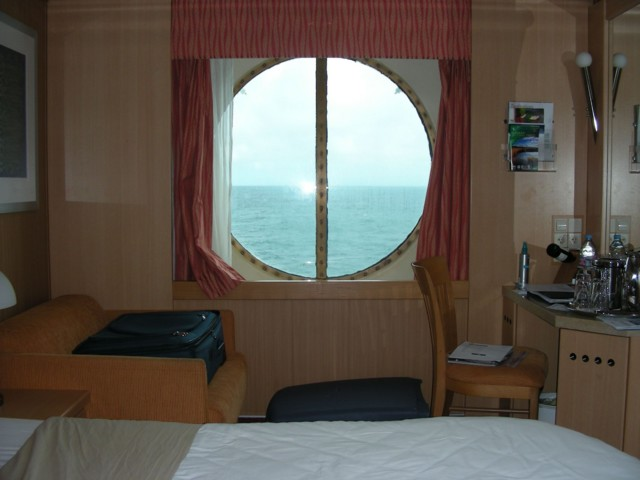 View from our stateroom