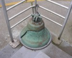 The old bell from St Michael's Russian Orthodox Cathedral in Sitka