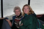 Grandma & Britta on the Wildlife Quest Tour on Sitka Sound