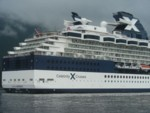 Our ship, the Celebrity Infinity