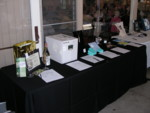 Some of the silent auction items