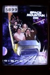Second Space Mountain ride - can you tell we knew when they took the photo this time? ;)