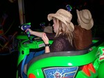 Melanie shoots to kill