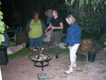 S'mores at the firepit
