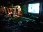 Cinema Brittahytta ambiance