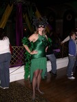 Friday night - Batgirl Britta at Alice Radio's Mardi Gras Party at Ruby Skye
