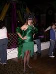 Friday night - Batgirl Britta at Alice Radio's Mardi Gras Party at Ruby Skye
